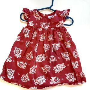 Gymboree floral dress pink 12-18 months